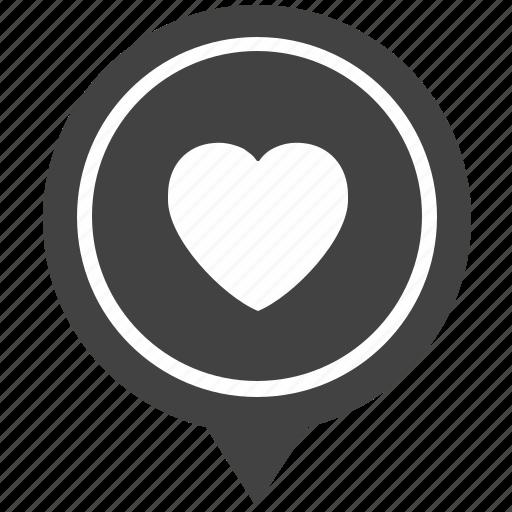 geo, love, person, pointer, romantic icon
