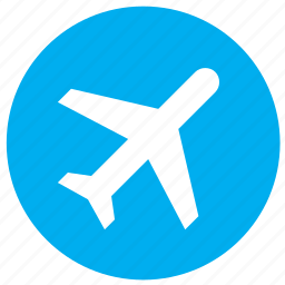 air, booking, flight, fly, plane, sky, ticket, travel icon