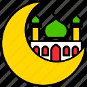 islam, moon, mosque, ramadan, religion, muslim