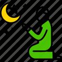 islam, muslim, pray, prayer, ramadan, star, man