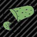cucumber, food, vegetable, salad, slicing