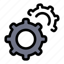 gear, gears, setting icon