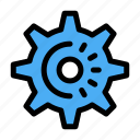 cog, gear, idea, setting icon