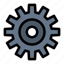 cogs, gear, setting, wheel icon