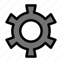 cog, gear, setting icon