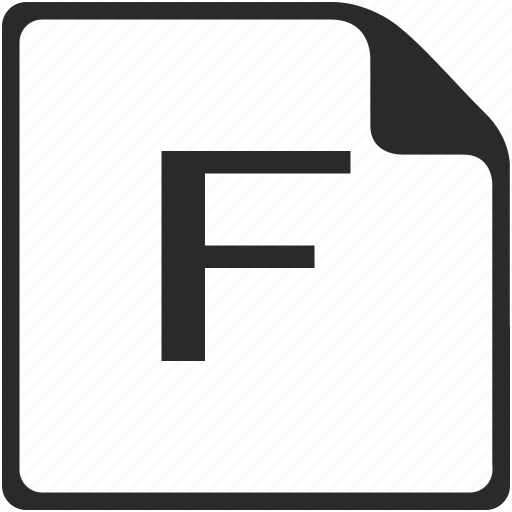 doc, f, file, key, latin, letter icon
