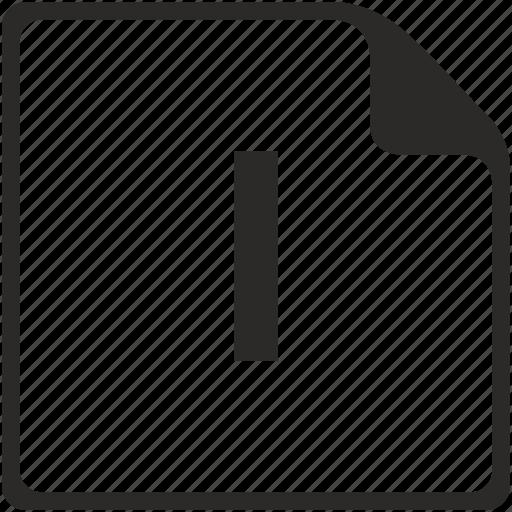 doc, file, i, key, latin, letter icon