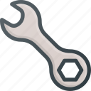 set, settings, setup, tool, wrench icon