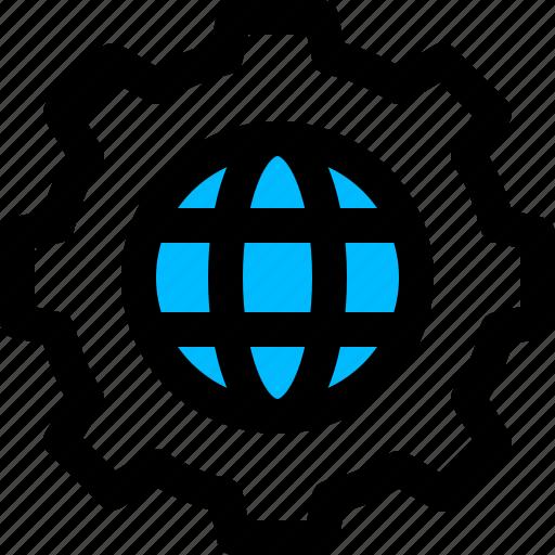 configuration, global, public, settings icon