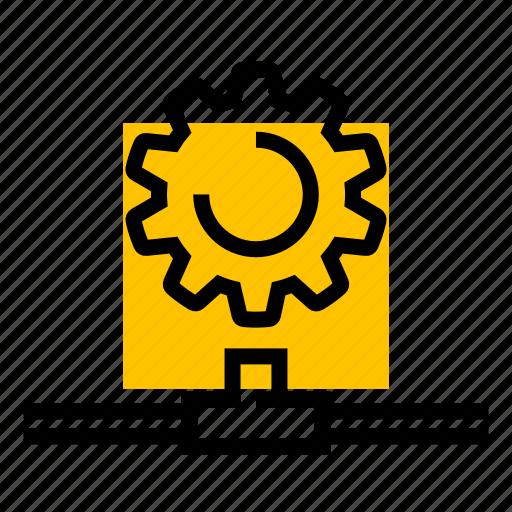 cog, gear, network, settings, setup icon