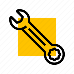 fix, repair, setup, tool, wrench icon