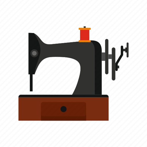 Machine, old, retro, sewing, tailor, thread, vintage icon - Download on Iconfinder