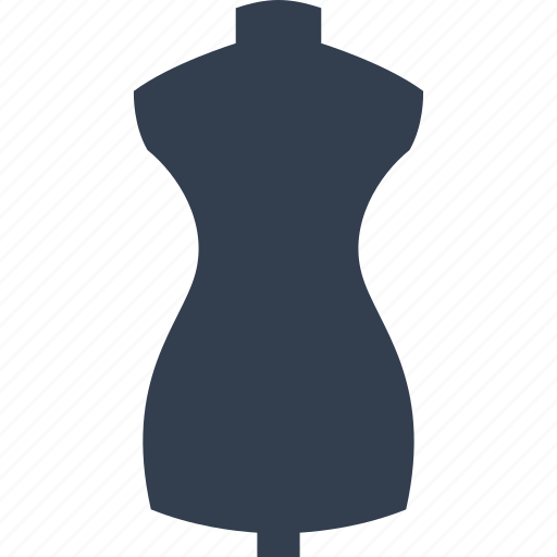 dool, dressmaking, dummy, fashion, mannequin, model, sewing, shape, taylor icon