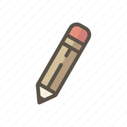 design, draw, drawing, edit, eraser, pencil, write icon