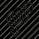 gender, sex, wedding icon