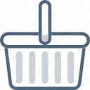 bag, basket, buy, cart, shop, shopping, store icon