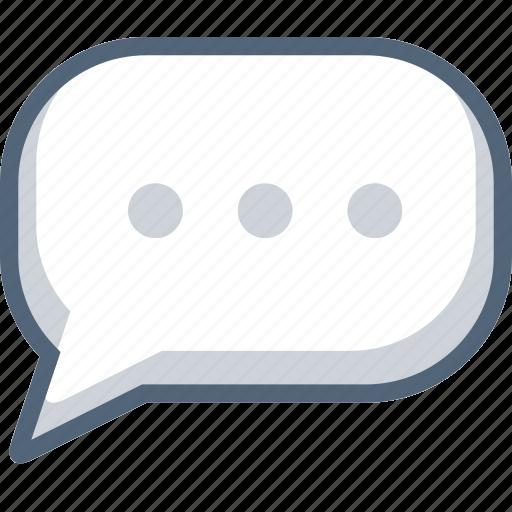 bobble, booble, bubble, chat, message, text icon