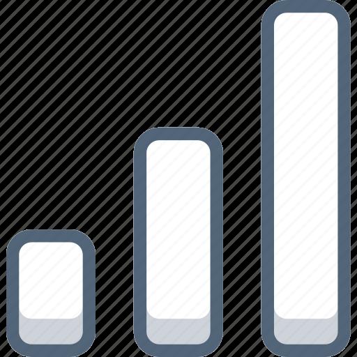 analysis, chart, graph, growth, lvl, statistics icon