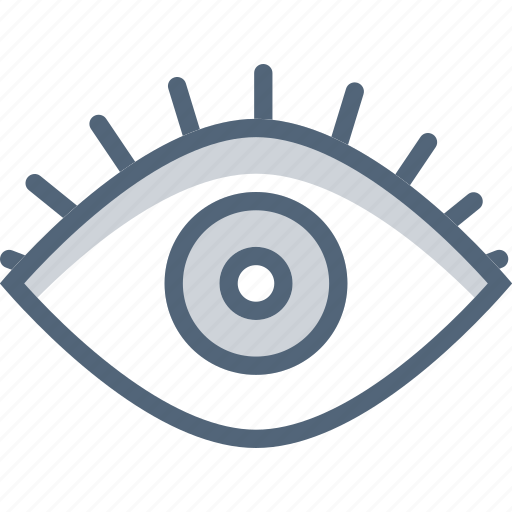 Eye, open eye, look, makeup icon - Download on Iconfinder