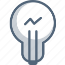 idea, lamp, lapm, light, lightbulb icon