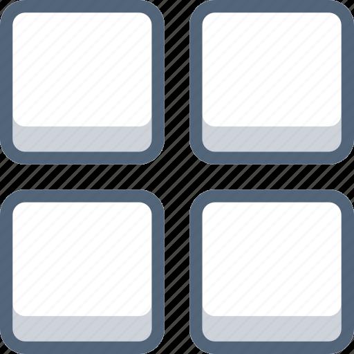 menu, options, square, tools icon