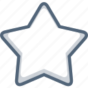 fav, favorite, favorites, star icon