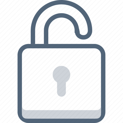 lock, locked, security, unlock icon