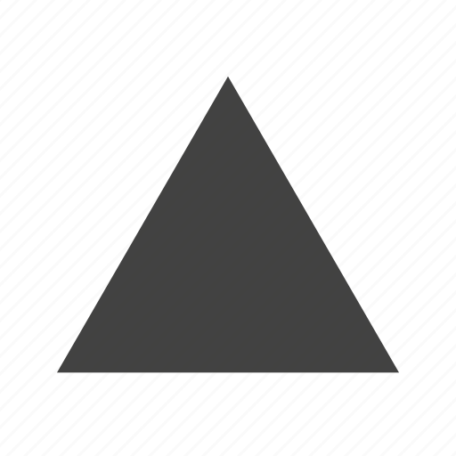 design, geometry, graphic, pyramid, shape, triangle icon