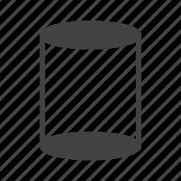 charts, cylinder, data, diagram, graph, progress icon