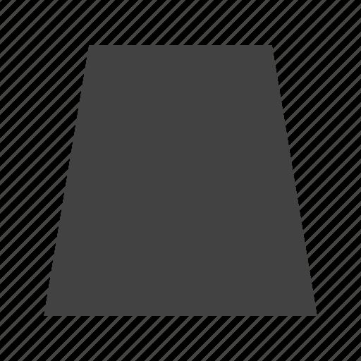 book, education, geometric, shape, shapes, trapezium, triangle icon