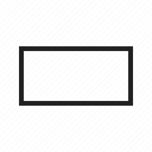 box, design, drawn, frame, rectangle, set, square icon