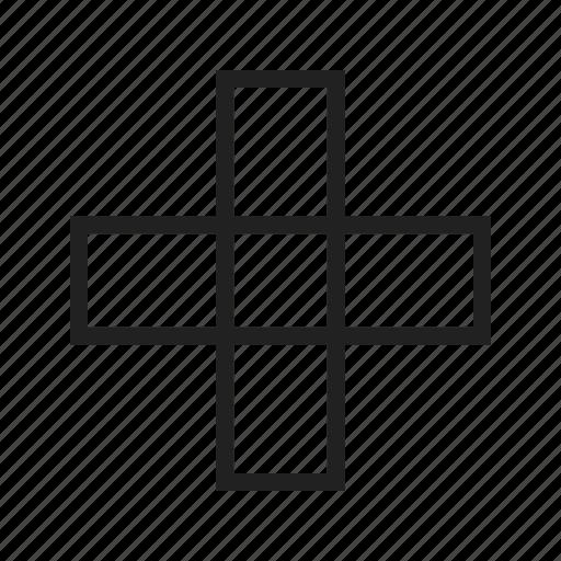 checkmark, cross, minus, negative, plus, positive, sign icon