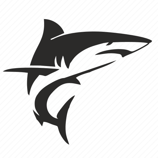 danger, move, ocean, sea, shark icon