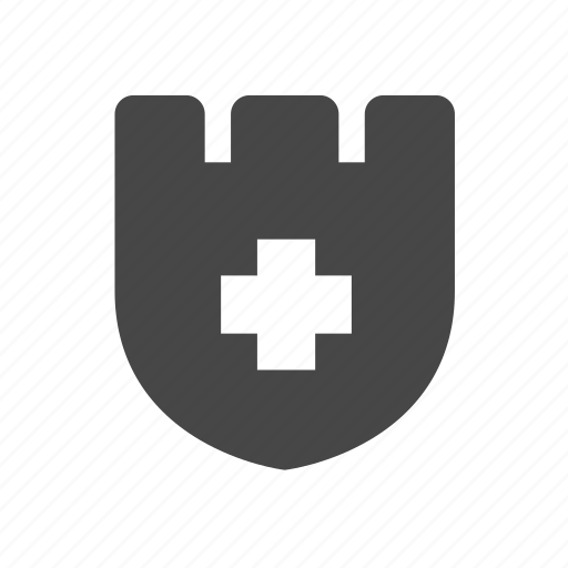 armor, badge, shield, valid icon