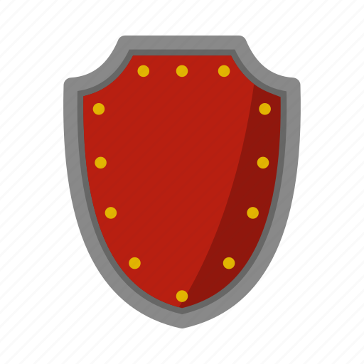 army, danger, defense, hilt, iron, protective, shield icon