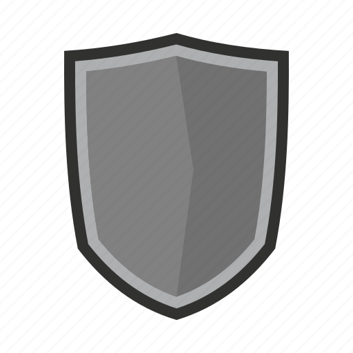 brave, danger, defense, hilt, iron, military, shield icon