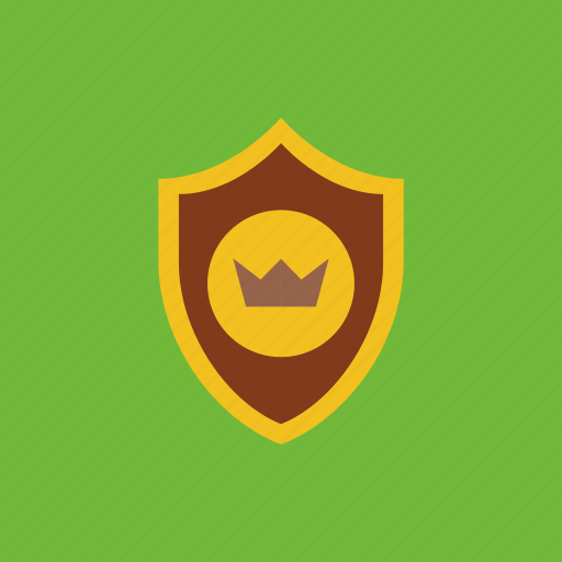 crown, guard, protect, shield icon