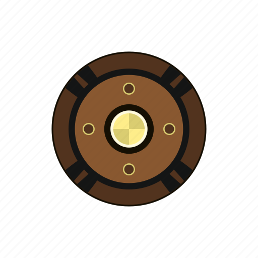 ancient, armor, army, history, shield, war, weapon icon