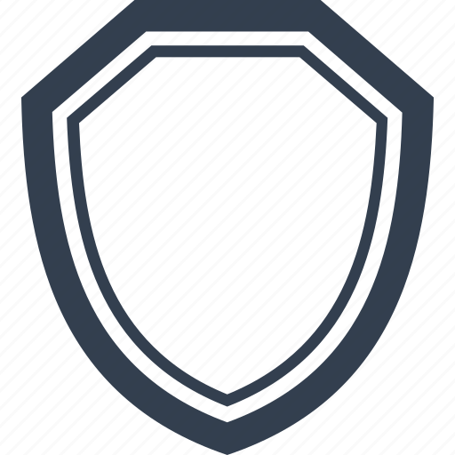 empty, insurance, protection, safe, safety, secure, security, shield, template icon