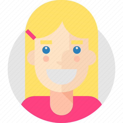 Cheerful, emma, cute icon - Download on Iconfinder