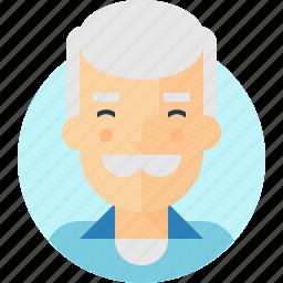grandpa, shirt, stuart, uncle icon