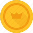 crown, bitcoin