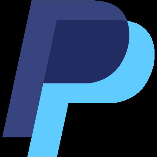 logo, p, paypal icon