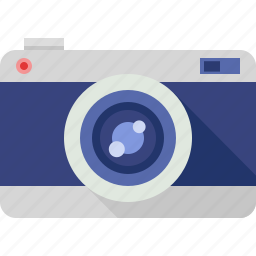 camera, vintage icon
