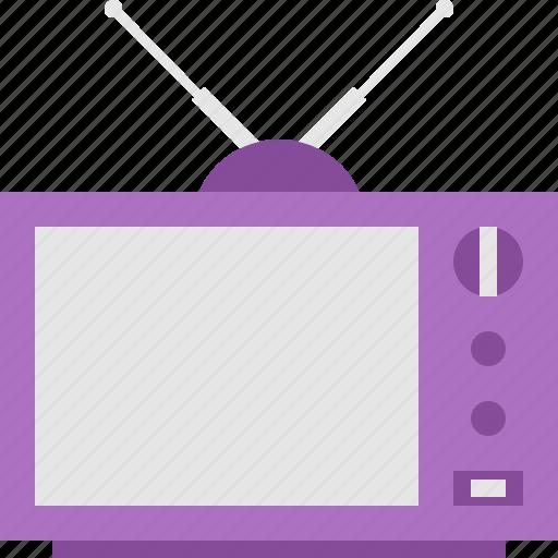 television, vin icon