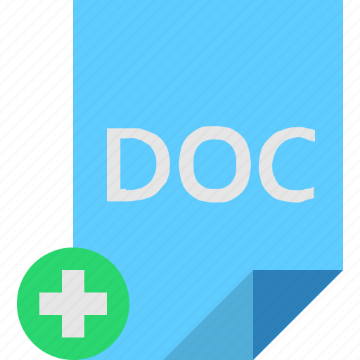 Add, doc, file icon - Download on Iconfinder on Iconfinder