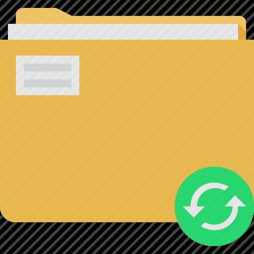 Folder, sync icon - Download on Iconfinder on Iconfinder