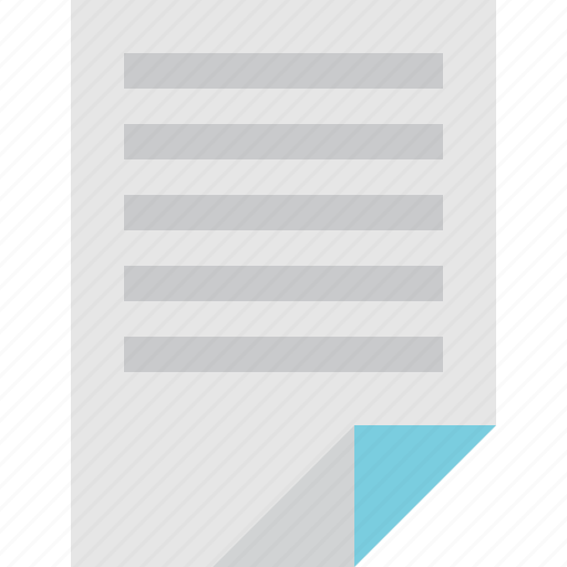 file, notes icon