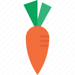 carrot, fruit icon
