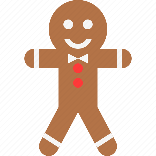 gingerbread, man icon